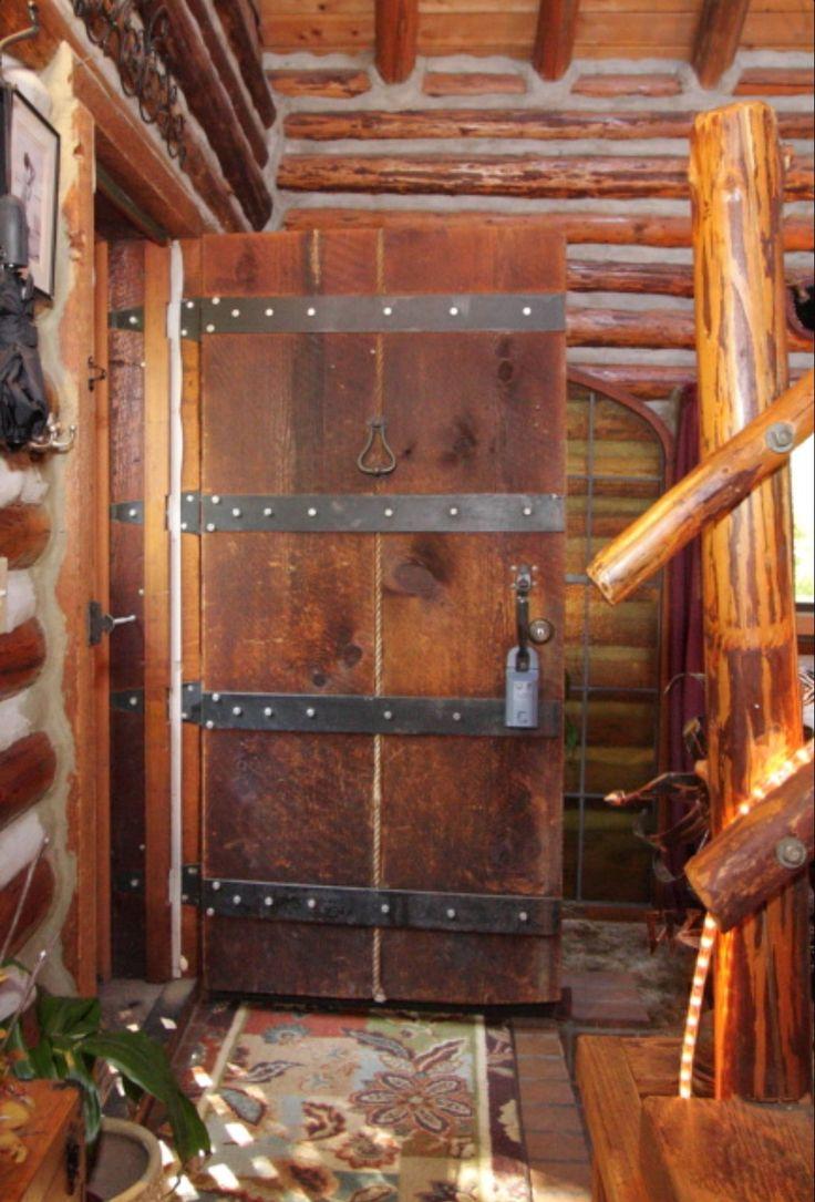 26 best build your own log home skip ellsworth diy for Log house doors