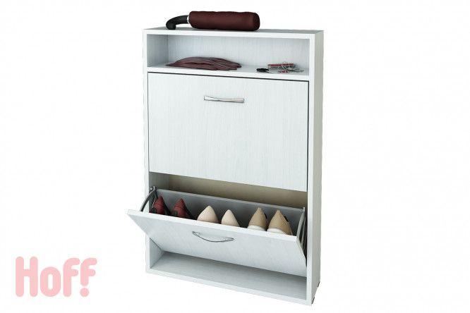Тумба для обуви Милан-ХФ-25 - купить в интернет-магазине Hoff.   3290 руб.  60х88,2х16,6 см