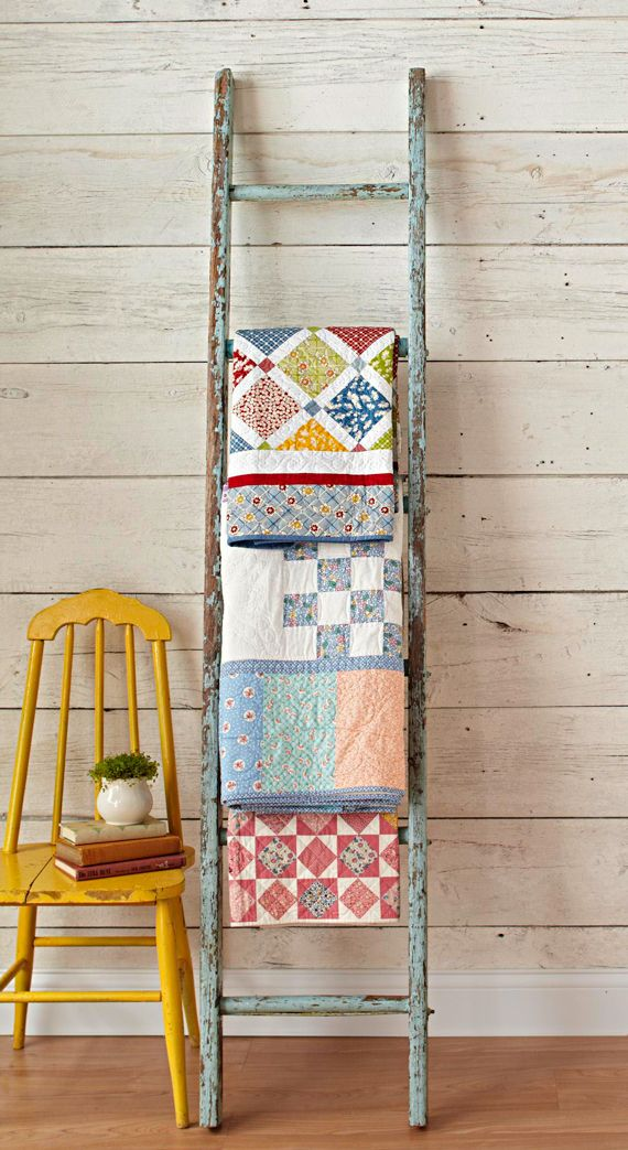 Hang Blanket On Wall best 25+ ladders ideas on pinterest | wooden ladders, old wooden