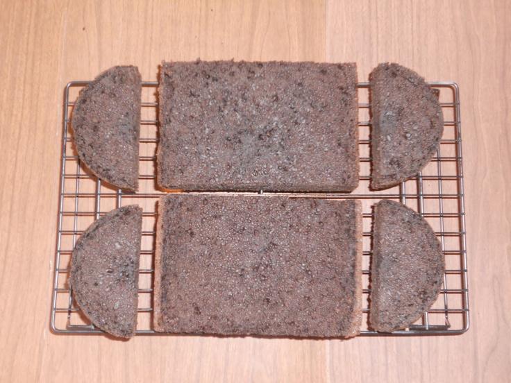 Image detail for -Pamela's Creative Cakes: Skateboard Cake Tutorial