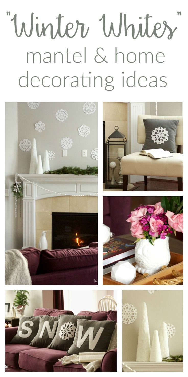 25+ Best Ideas About Winter Home Decor On Pinterest | Christmas Decor,  Apartment Holiday