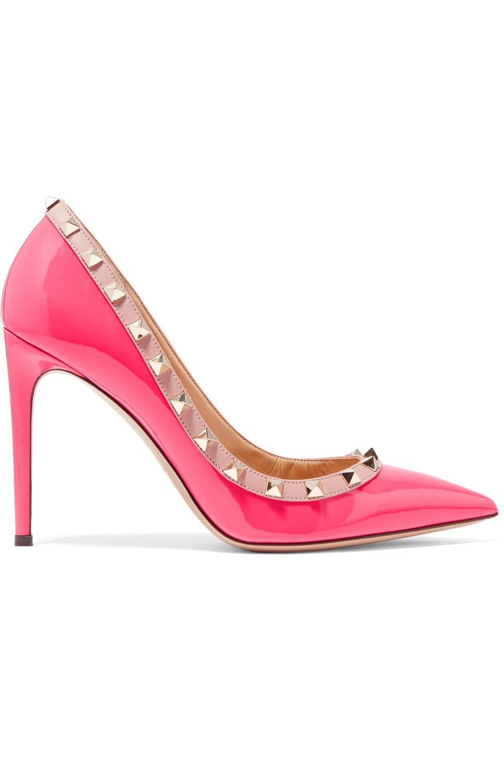 Shop on-sale Valentino Rockstud patent-leather pumps. Browse other discount designer Pumps & more on The Most Fashionable Fashion Outlet, THE OUTNET.COM