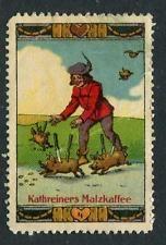 Kathreiners Malzkaffee #4 Reklamemarke Poster Stamp