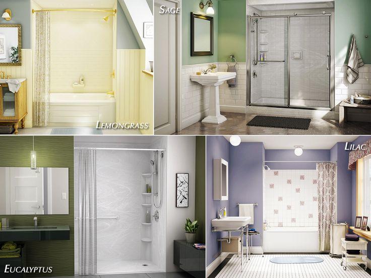 summer bathroom styles and designs lemongrass sage eucalyptus lilac - Bathroom Styles And Designs