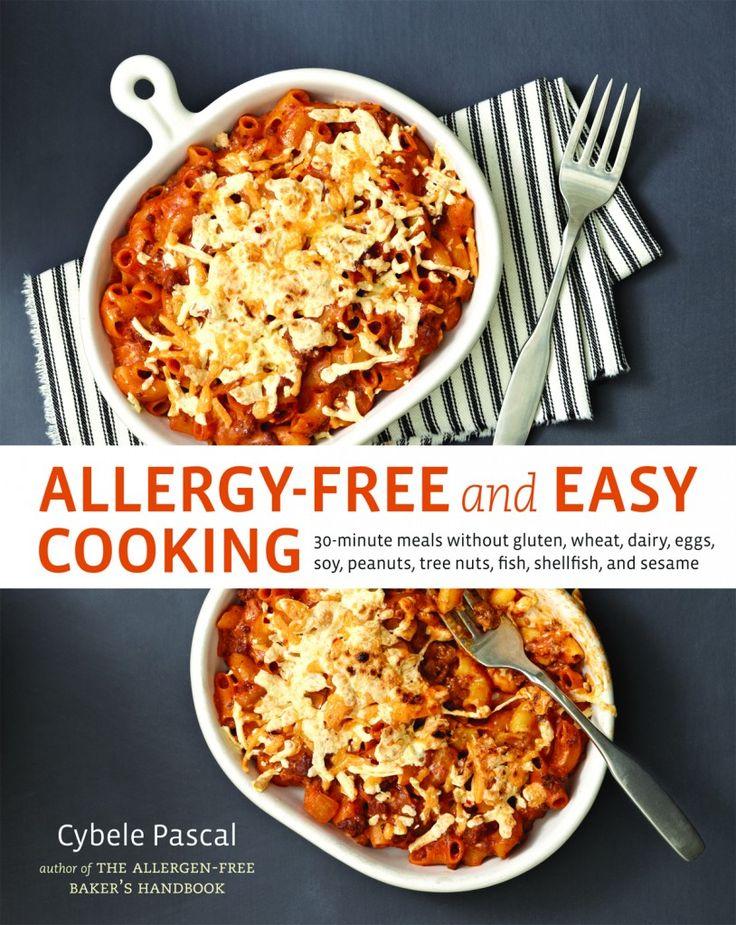21 best food allergy cookbooks images on pinterest food allergies allergy free easy cooking by cybele pascal forumfinder Images