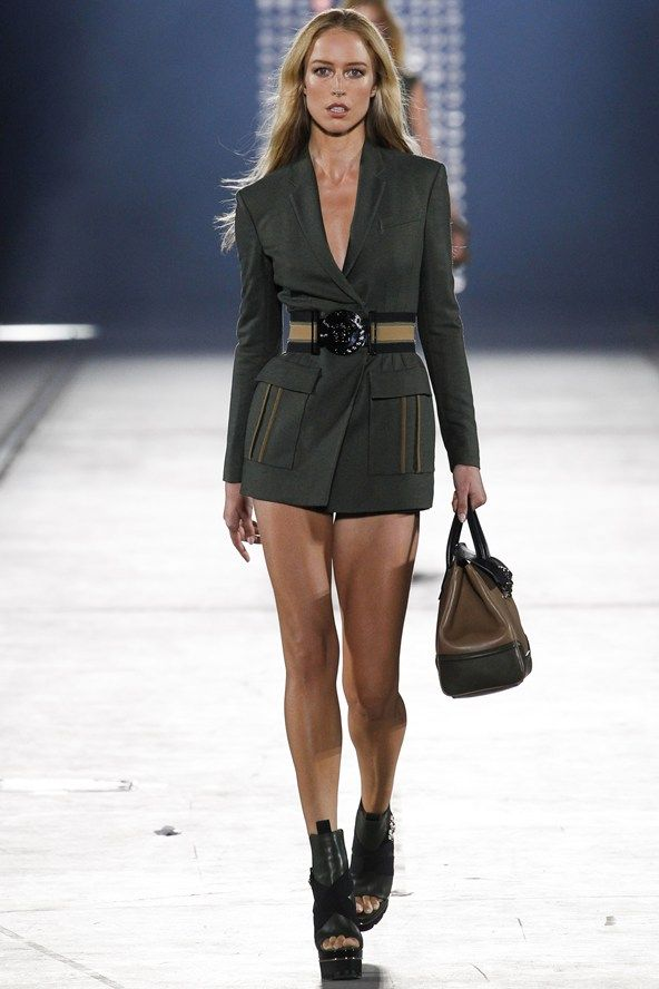 Donatella Versace summons her sexiest army