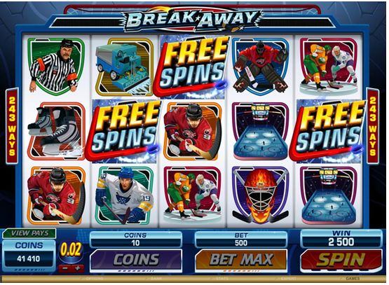 Break Away - Video Slot is available for #play at Royal Vegas Online Casino
