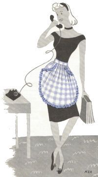 40+ free apron patterns & tutorials.  I do love aprons!