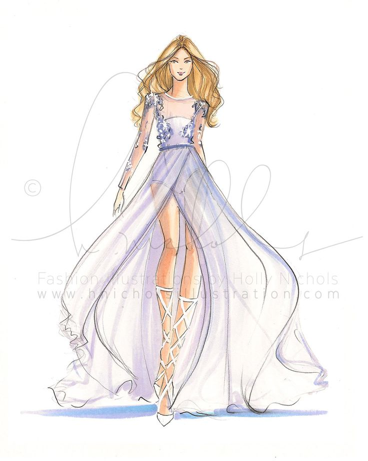 Serenity Couture Print by HNIllustration on Etsy