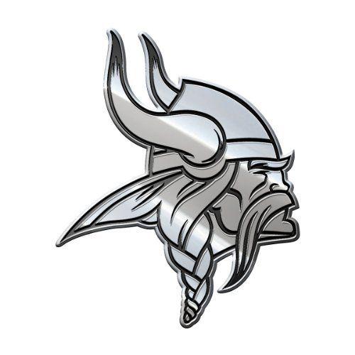 NFL Minnesota Vikings Premium Metal Emblem, Purple, Stadard Size by Team ProMark. NFL Minnesota Vikings Premium Metal Emblem, Purple, Stadard Size. Standard Size.