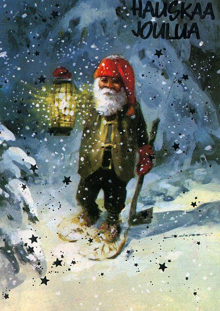 Веселые гномики. Рождественские открытки. Обсуждение на LiveInternet - Российский Сервис Онлайн-Дневников