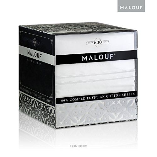 MALOUF 600 Thread Count Genuine Egyptian Cotton Review (August 2016)…