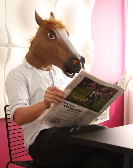 Horse head mask.!!!