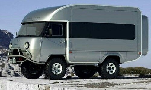 UAZ Camper Body retrofit
