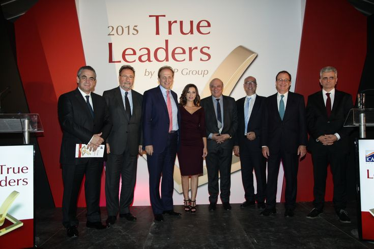 Η ICAP Group βράβευσε τις 59 Εταιρείες και τους 12 Ομίλους TRUE LEADERS 2015