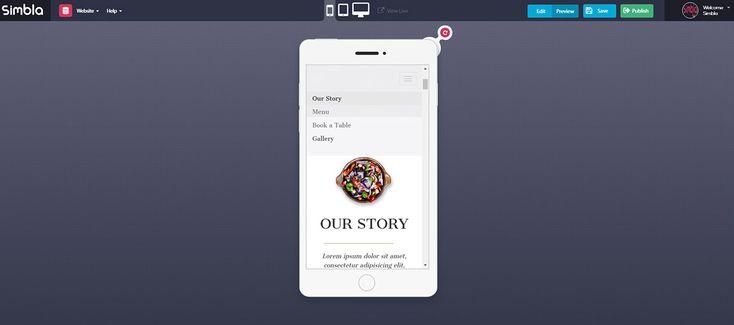 Simbla: Responsive Website Maker  DevelopmentDesign DesignModo