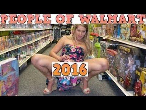 People being naughty at walmart