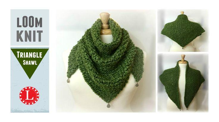 Rectangular Loom Knitting Patterns For Beginners : Best loom knitting videos images on pinterest