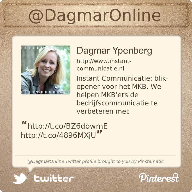 @DagmarOnline's Twitter profile courtesy of @Pinstamatic (http://pinstamatic.com)