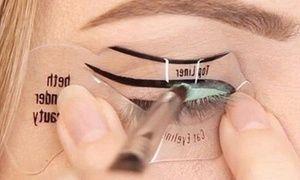 Stencils applicazione eyeliner