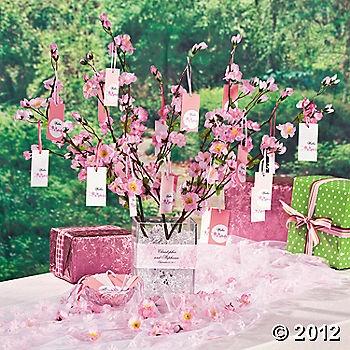Cherry blossom wishing trees