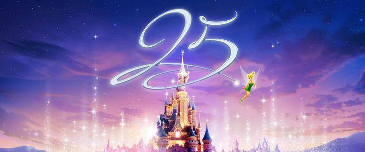 Attrazioni per tutte le età a Disneyland Paris: che compie 25 anni Un anno di festeggiamenti e di eventi straordinaria a Disneyland Paris, che compie 25 anni. Era il 12 aprile del 1992 quando il parco aprì i battenti.Da allora regala magia ed emozioni ai bambini e a #disneyland #divertimenti #anniversario