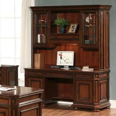 riverside furniture cantata computer credenza with hutch