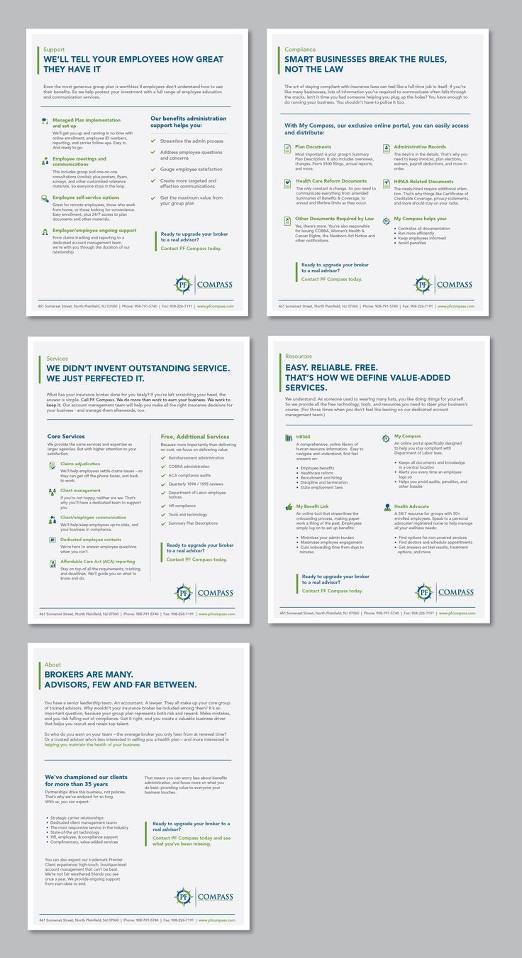 162 best brochure and white paper designs images on pinterest pf compass marketing by achiver d design fandeluxe Images