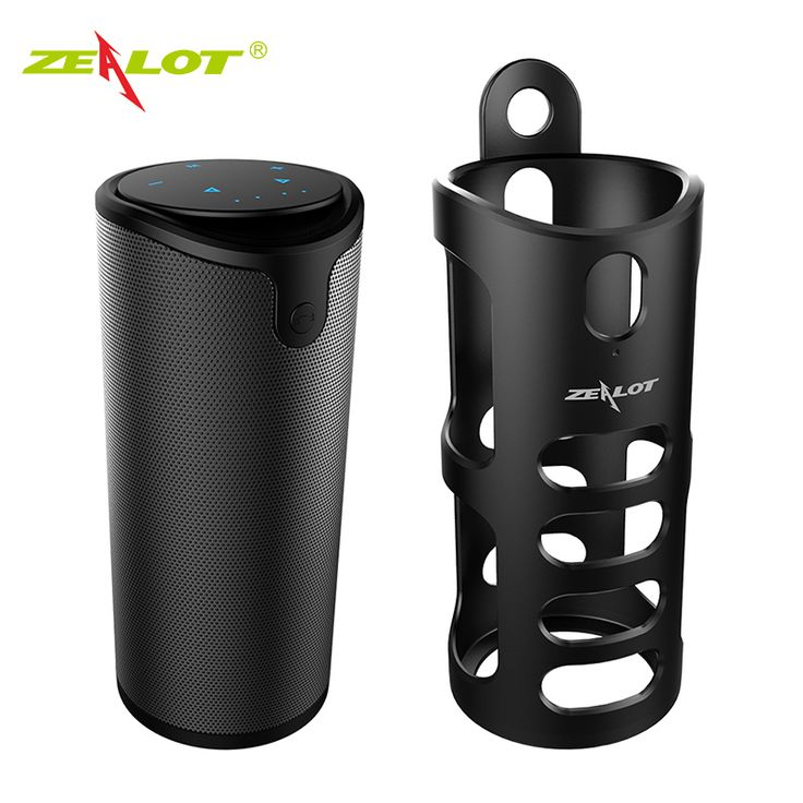 New ZEALOT S8 HIFI Touch Control Portable Wireless Bluetooth Speaker with Sling Cover Car Music Speaker For Iphone Xiaomi Huawei