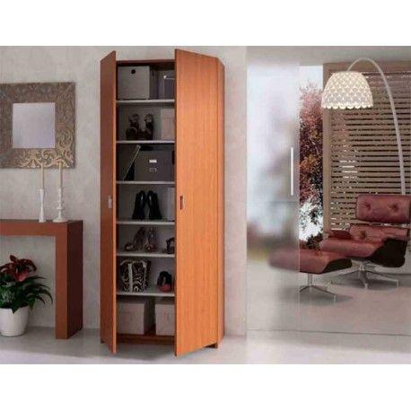 ¿Estás buscando un Armario Alto que quede bien con los muebles de tu casa u oficina y a buen precio? Te ofrecemos este armario en color nogal que puedes poner en cualquier zona de tu casa, en un dormitorio por ejemplo y en tu oficina quedará perfecto para almacenar infinidad de productos.