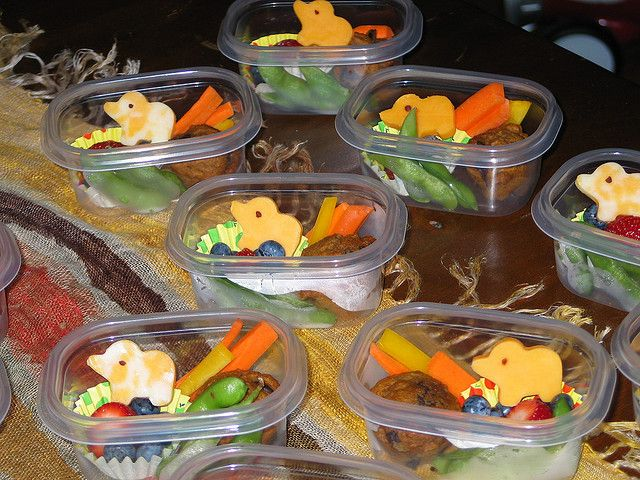 Snacks for Pre-School Class, via Flickr.
