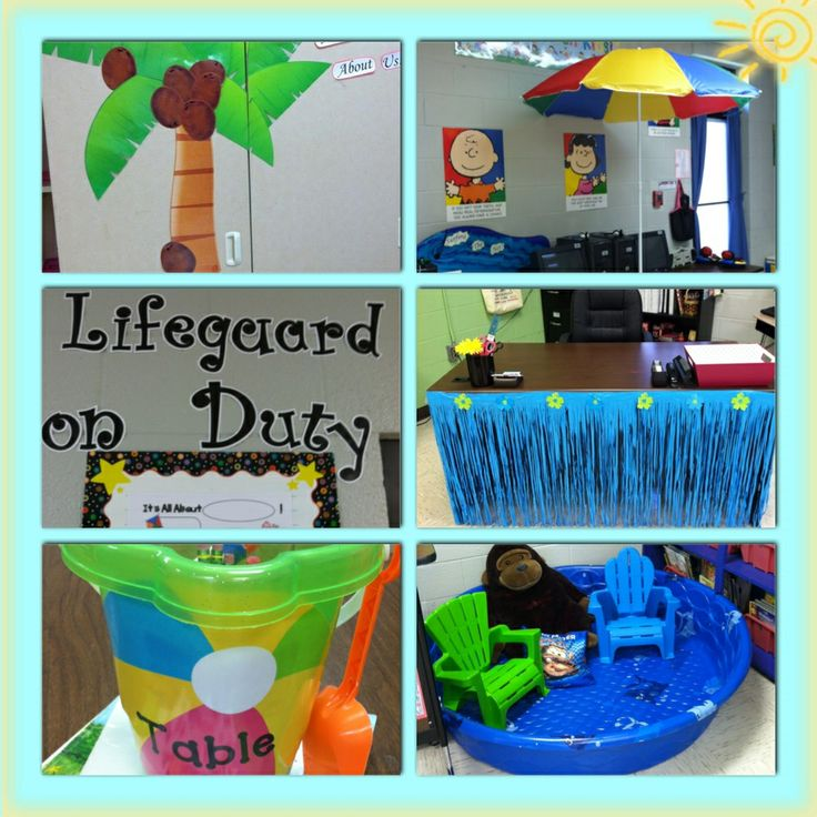 Classroom Beach Decor ~ Images about luau beach themed classroom on