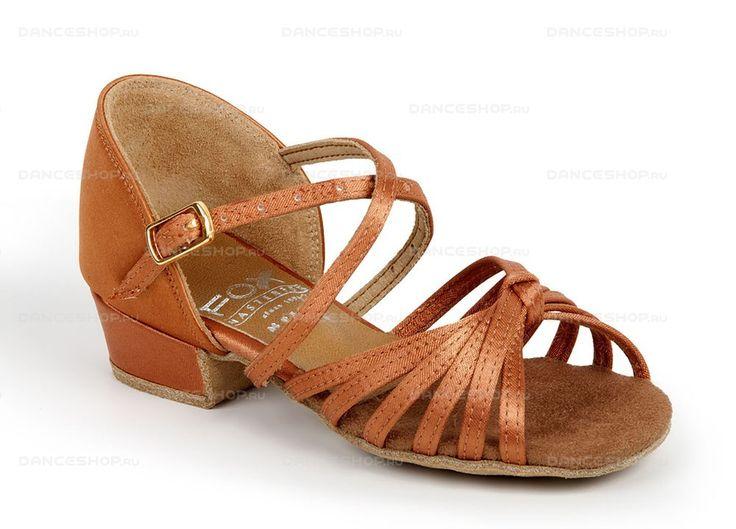 Обувь для танцев DanceFox, модель Fox BL 021, для девочек