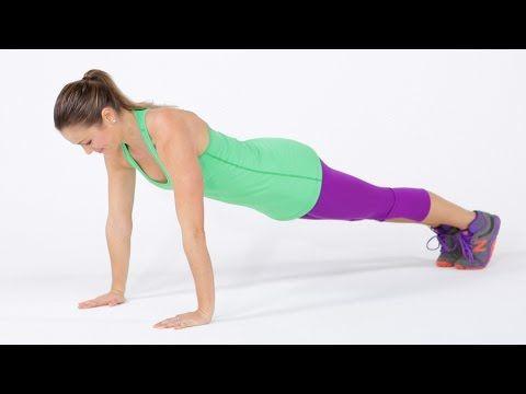 8-Minute Full Body Tabata Workout   Class FitSugar - YouTube