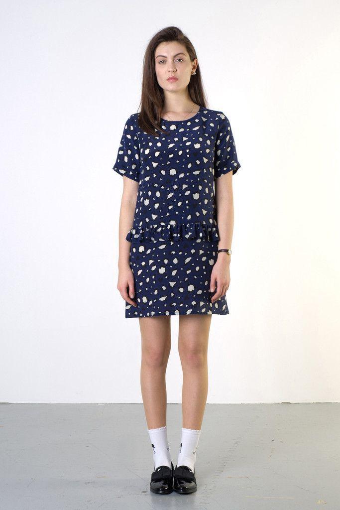 TWENTY-SEVEN NAMES Houston Frill Dress New Zealand Designer - NZ Designer Shop now www.livsnz.com