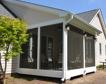 screened in porch ideas | Screened Porch Ideas traditional porch