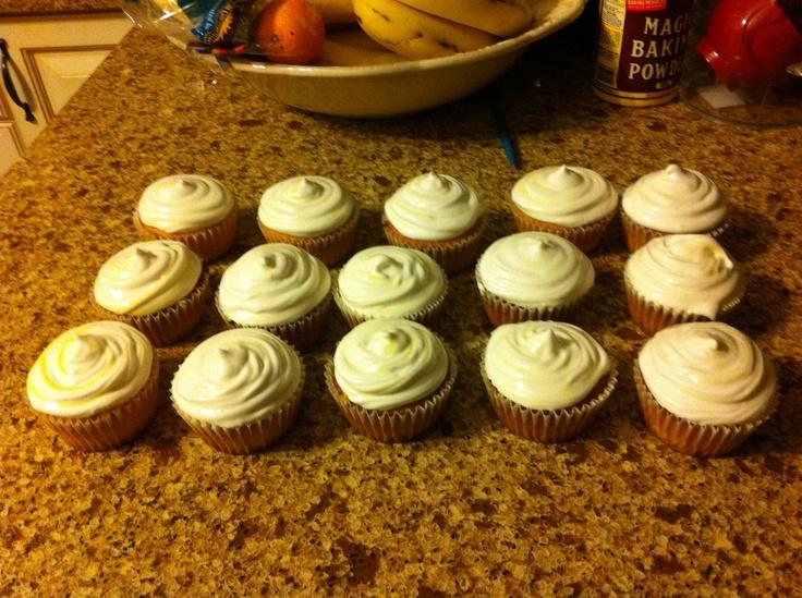 my lemon meringue cupcakes! | All Things Lemon and Lime | Pinterest