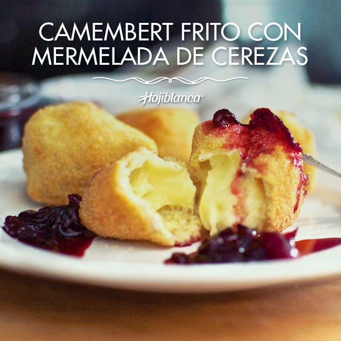 ¿Que os parece este #Camembert Frito con mermelada de Cerezas? #RecetasHojiblanca #Recetas #Saludables https://www.facebook.com/Hojiblanca