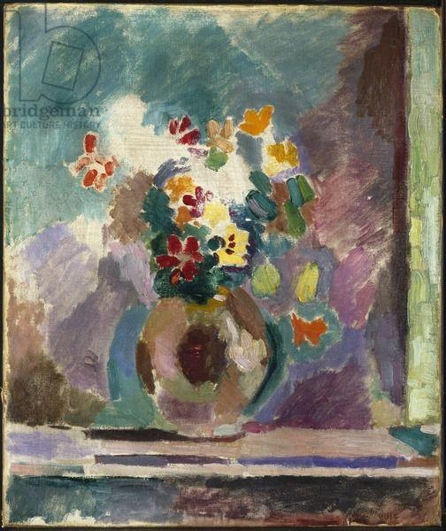 Matisse, Henri (1869-1954) Flowers, 1906 (oil on canvas)