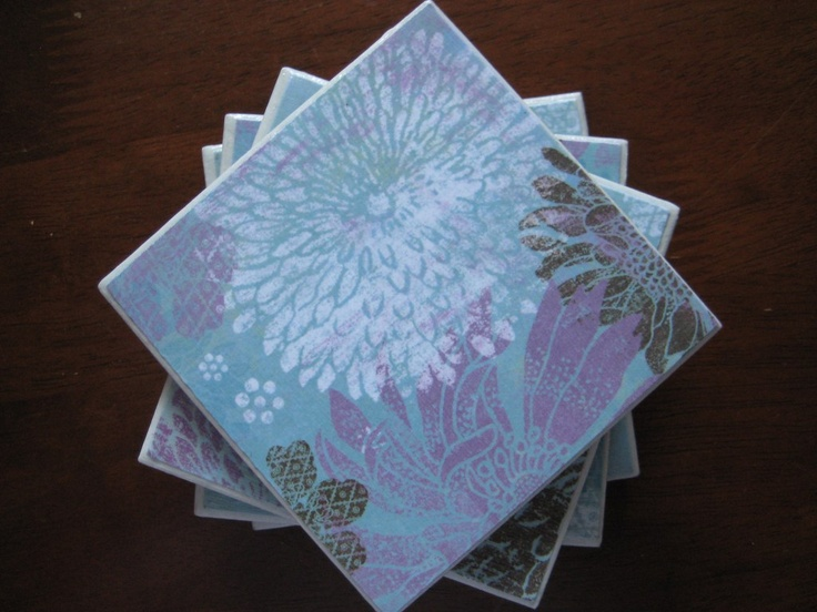 Modge podge coasters my finished projects pinterest for Modge podge ideas