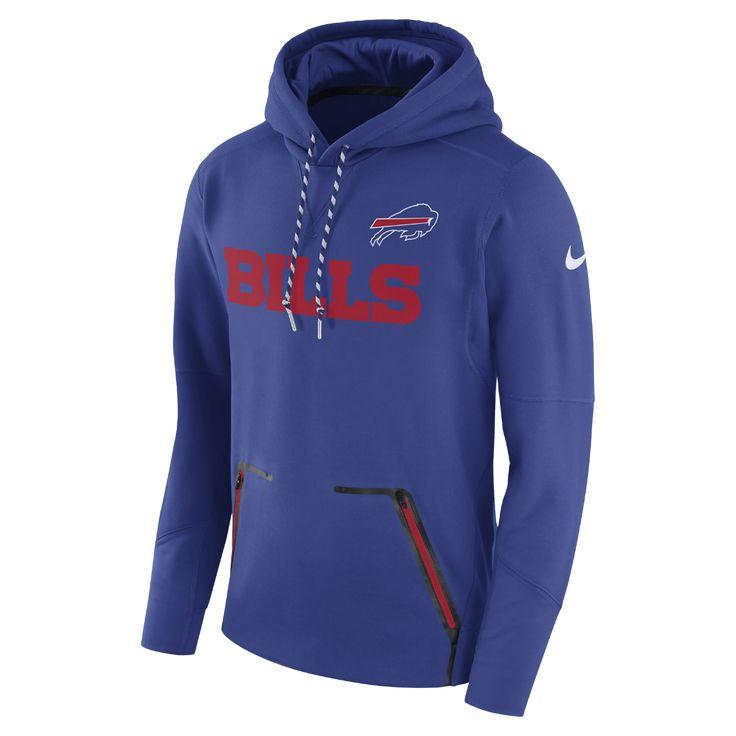 Nike Therma Player (NFL Bills) Men's Hoodie Size