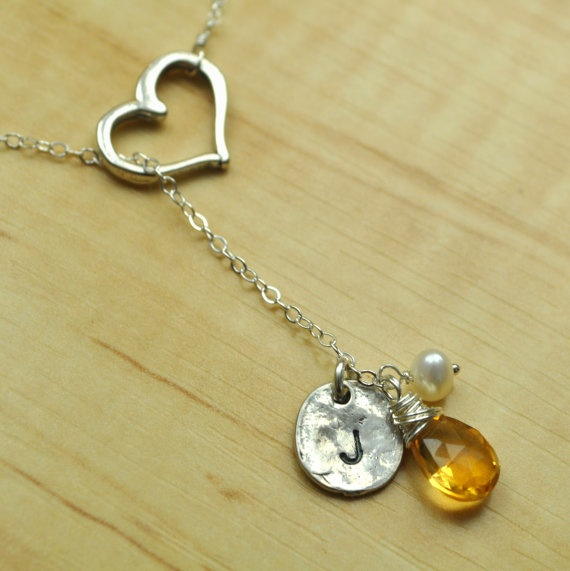 I love these handmade stamped jewelry.