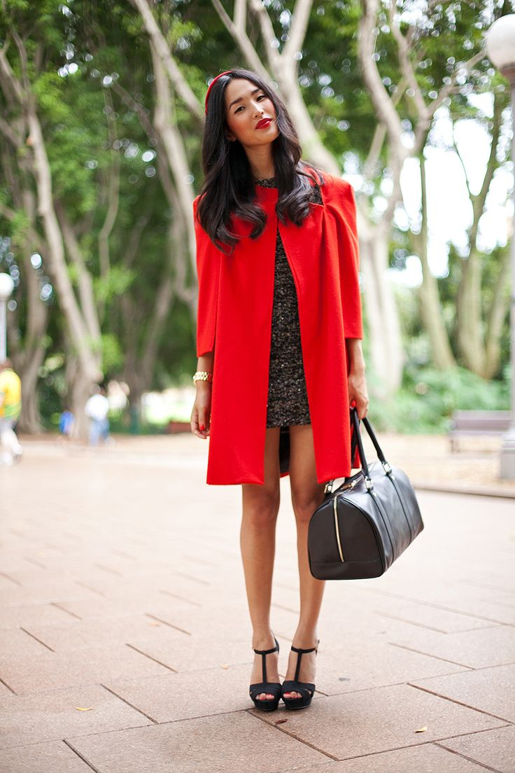 31 best Red coat images on Pinterest | Red coats, Winter style and Red