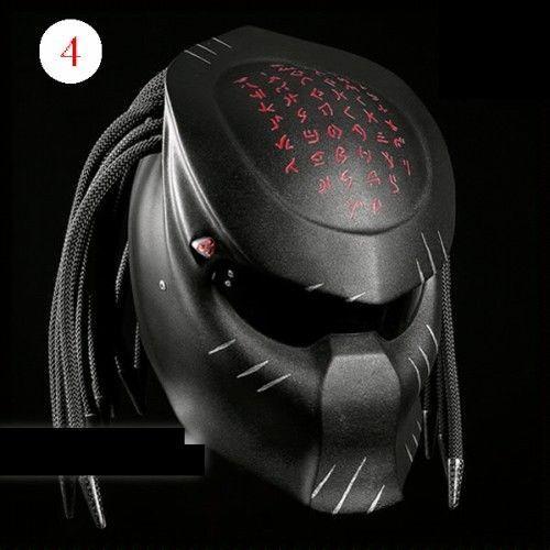 Helmet Predator Street Fighter Custom #CellosHelmet