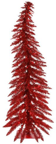 Whimsical 4' Red Spruce Artificial Christmas Tree