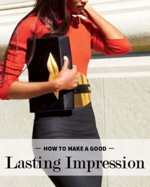 Making a lasting impression means you have executive presence. Great tips on how to make people remember you and what you say.