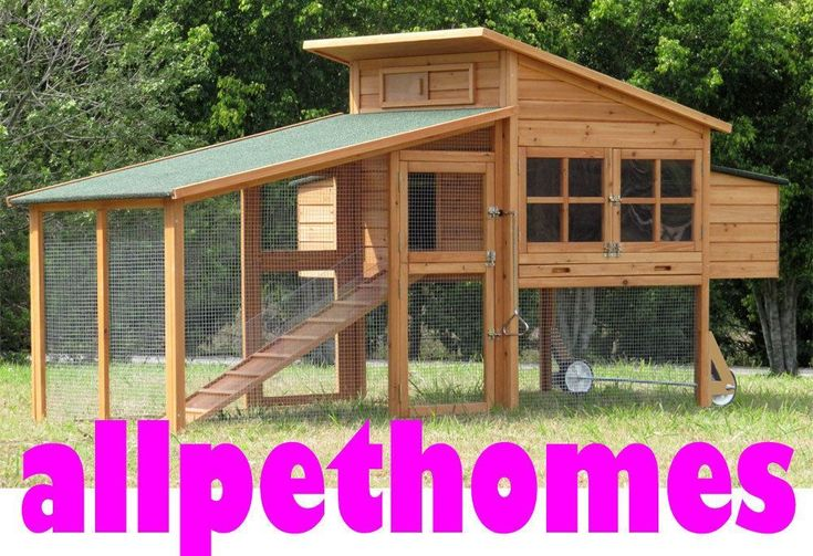 XLARGE Rabbit Guinea Pig Hutch Cage Rabbit,- UP TO 9 Chicken Coop House G19 #rabbithutch