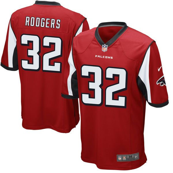 Youth Atlanta Falcons Jacquizz Rodgers Nike Red Team Color Game Jersey 1