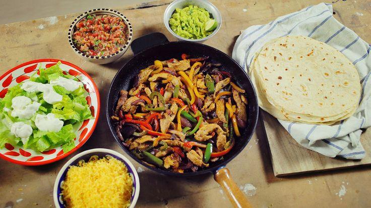 A házi tortilla és fajitas készítés összes titka
