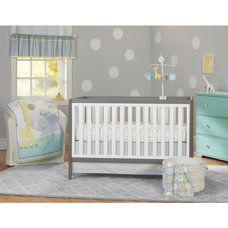 nursery grey on cheap for bedding ebay cribs with used sale crib baby changing sets piece